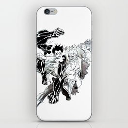 Rabber vs Mingo iPhone Skin
