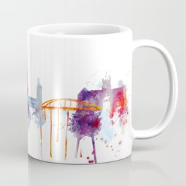 Stockholm Watercolor, Scandinavian capital, Sweden decor Coffee Mug