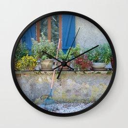 la maison bleue Wall Clock