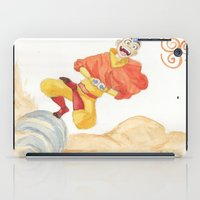 aang iPad Cases featuring Avatar - Air Bending  by xCoCox