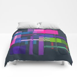 Imitation Mid-20th Century Abstraction, No. 3 Comforters