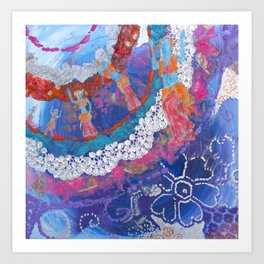 Dancing Towards Joy Art Print