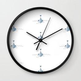 L'amour à la dérive Wall Clock