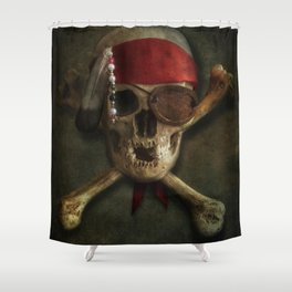 Once a pirate Shower Curtain