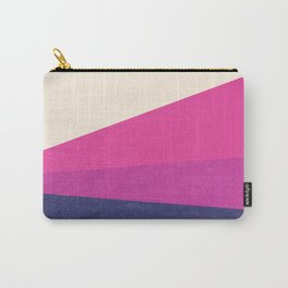 Stripe IV Violet Ray Carry-All Pouch