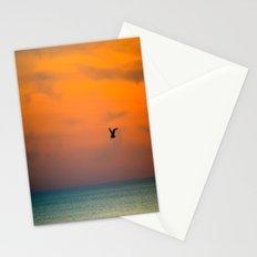 Fly away - Sunset 2 Stationery Cards