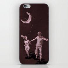Moonlight Run iPhone & iPod Skin