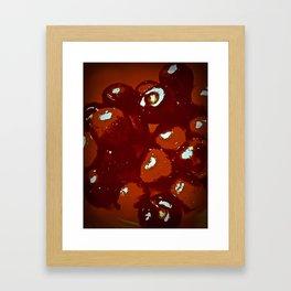 Cerise Framed Art Print