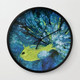 Le regard de Poséidon Wall Clock