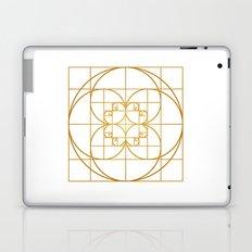 Golden Splash Laptop & iPad Skin