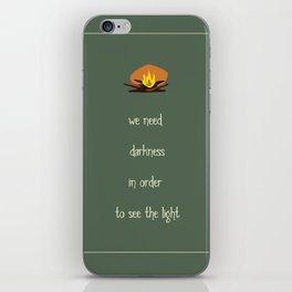 Darkness iPhone Skin