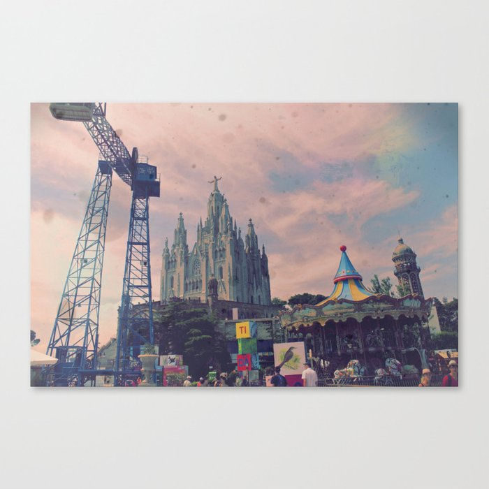 Carnivals and Colors and Castles and Churches Canvas Print