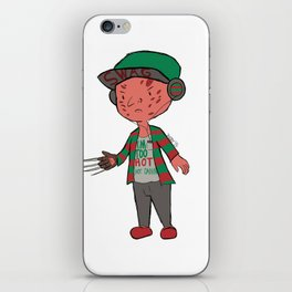 Horror Hipsters - Freddy Krueger iPhone Skin