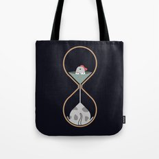 dog hourglass Tote Bag
