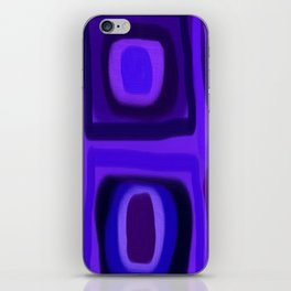 Violets in Blue Windows iPhone Skin