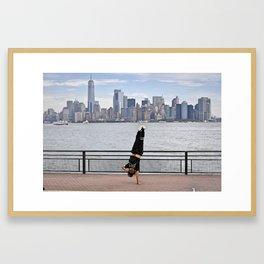 B-Boy takes NYC Framed Art Print