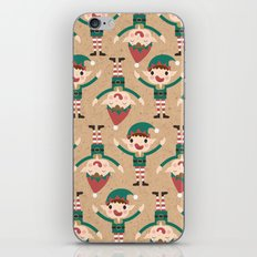 Day 18/25 Advent - Santa's Slaves II iPhone & iPod Skin