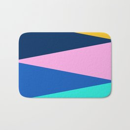Color fields III Bath Mat