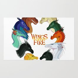 Wings of Fire All Together Rug