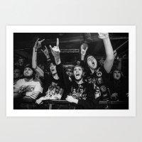 Metal fans, 2015 Art Print