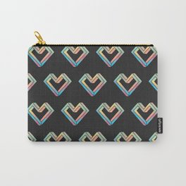 le coeur impossible (pattern) Carry-All Pouch