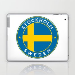 Sweden, Stockholm, circle Laptop & iPad Skin