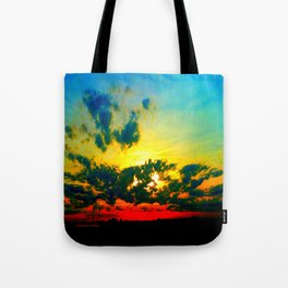Curdled Clouds Tote Bag