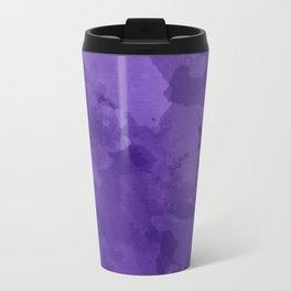 amethyst watercolor abstract Travel Mug