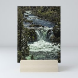 Steelhead Falls Vertical Mini Art Print