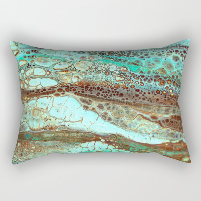 Abstract Annemarie Rectangular Pillow