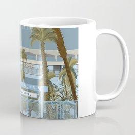 Dodger Stadium Gates View Coffee Mug