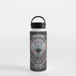 Neon Tribal Bear Water Bottle
