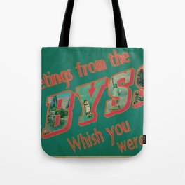Welcome to the Abyss Tote Bag