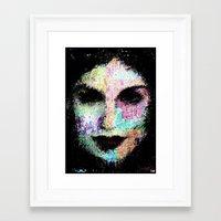 cassandra jean Framed Art Prints featuring Cassandra by brett66