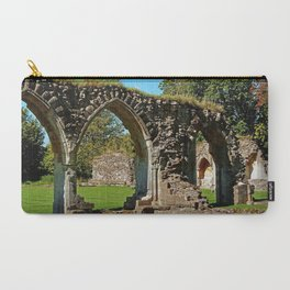 Hailes Abbey ruins. Carry-All Pouch