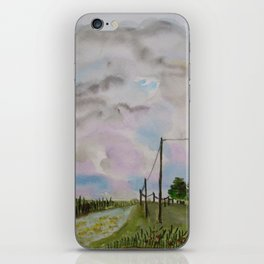 Quietness iPhone Skin