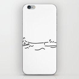 water-ski boat waterski iPhone Skin