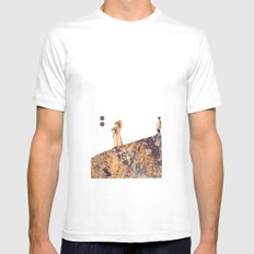 not if, but when MEDIUM White Mens Fitted Tee