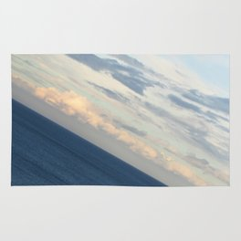 Sea View: The End of the World Rug