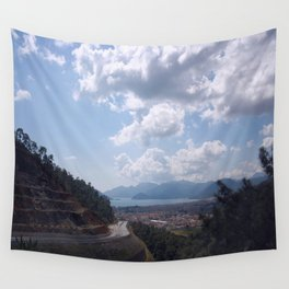 Descent Into Marmaris Wall Tapestry
