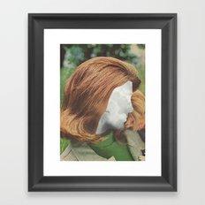 Clouds Parted Framed Art Print