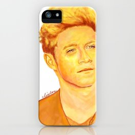 Niall Horan Painting iPhone Case