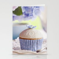 cupcake Stationery Cards featuring CUPCAKE by Ylenia Pizzetti