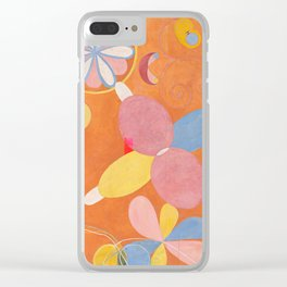 Hilma af Klint ,The Ten Largest, No. 4, Youth Clear iPhone Case
