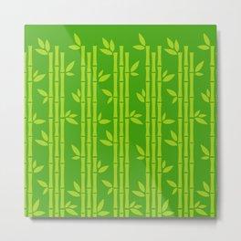 Evergreen Chinese Bamboos Metal Print