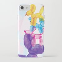 baloon iPhone & iPod Cases featuring Baloon Pups by Fricking