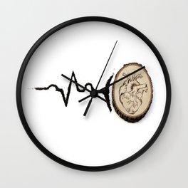 Heart Beat Art Wall Clock