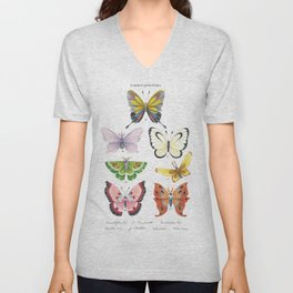 Butterfly Pokémon of the World Unisex V-Neck