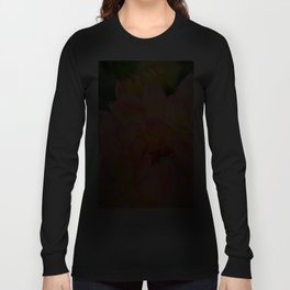 """Coral Tipped"" Dahlia by Teresa Thompson Long Sleeve T-shirt"