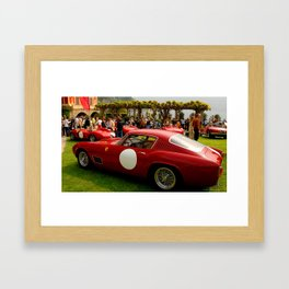 Ferrari's at Villa D'Este Framed Art Print